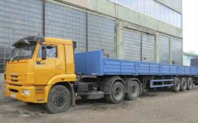 Грузоперевозки 20 тонн фура бортовая, грузчики - Тула