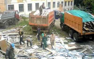 Вывоз строительного мусора - Тула, цены, предложения специалистов