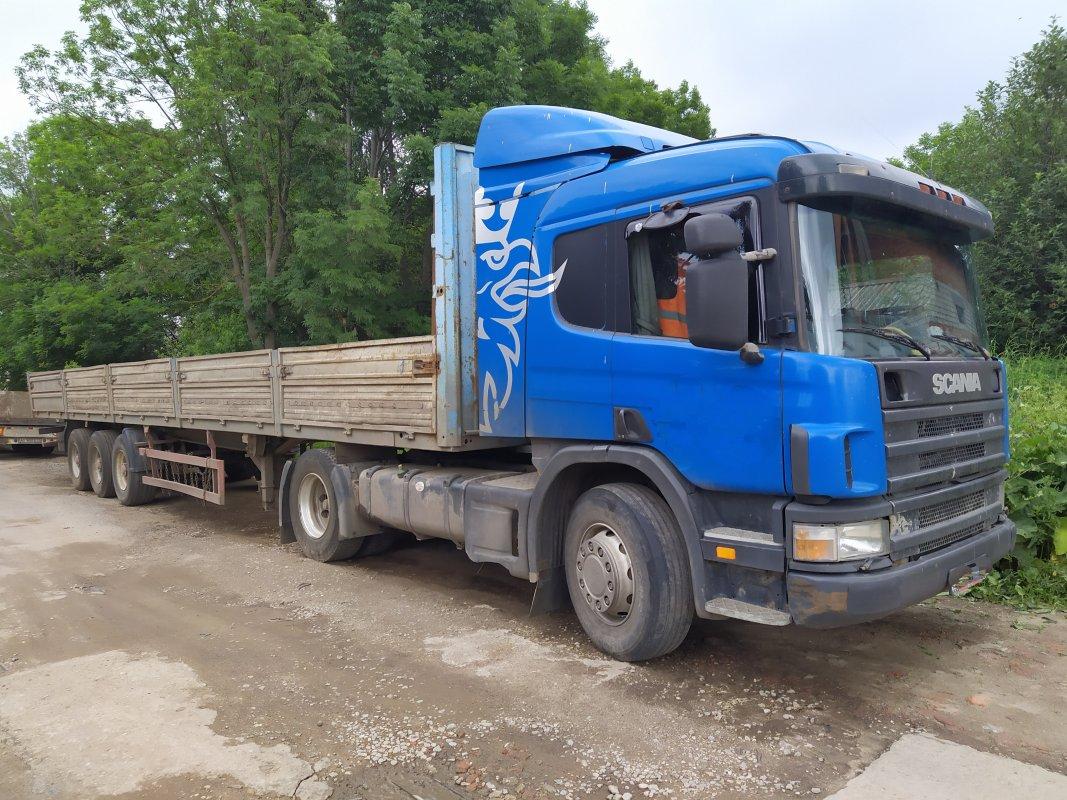 Длинномер Scania заказать или взять в аренду, цены, предложения компаний