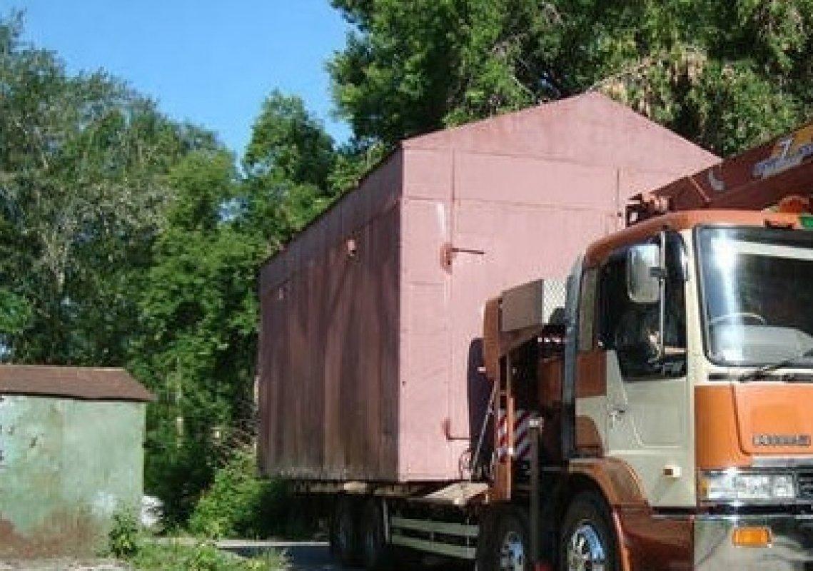 Перевозка металлического гаража тула как правильно построить гараж видео